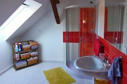 horní koupelna - chalupa k pronájmu