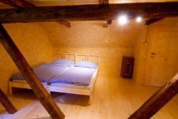 Pokoj v podkroví - chalupa k pronájmu