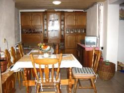 obývací pokoj - chata k pronájmu