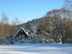 zima - chata k pronájmu