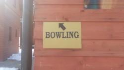 bowling - chata k pronájmu