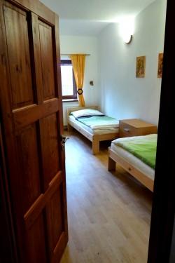 2. třílůžková ložnice - chalupa k pronájmu