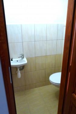 Samostatné WC - chalupa k pronájmu