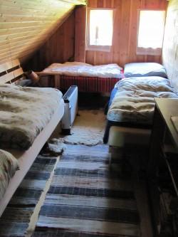 ložnice č.2 - chalupa k pronájmu