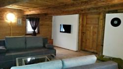 Obývací pokoj - chalupa k pronájmu