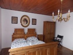 ložnice 3 - chata k pronájmu