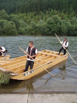 Splav Dunajca - chalupa k pronájmu