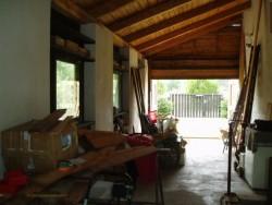 garáž - chata k pronájmu