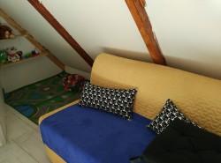 dětský koutek - chata k pronájmu
