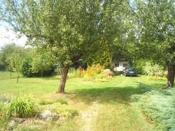 zahrada - chata k pronájmu