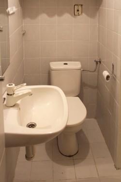 toaleta - chalupa k pronájmu
