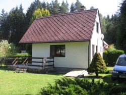 Zděná chata u řeky - pronájem chaty