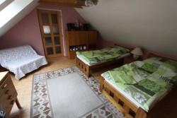2. ložnice  - chalupa k pronájmu