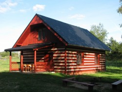 chata u Dalešické přehrady - pronájem
