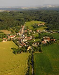 obec Kramolín - chata k pronájmu